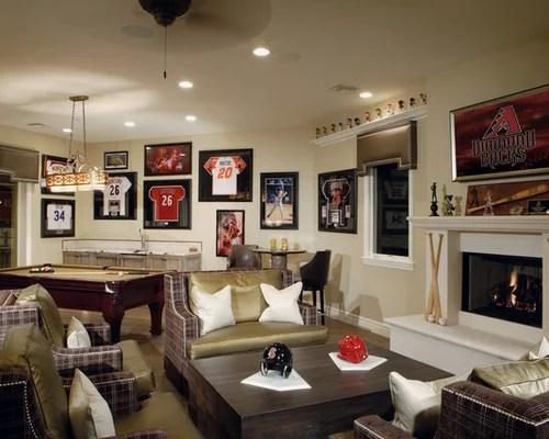 Sports Memorabilia Home Design Ideas Pictures Remodel and Decor