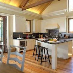 Narrow Kitchen Countertops Cow Triangle Island | Houzz