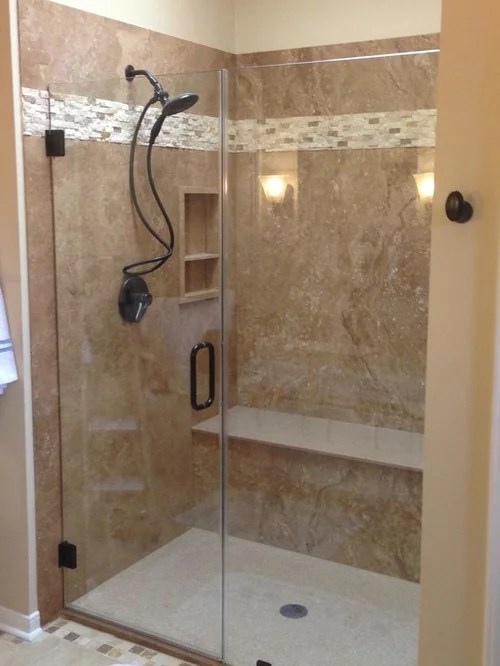 Tub To Shower Conversion  Houzz