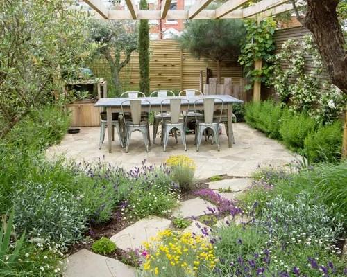 Best Farmhouse Landscape Design Ideas & Remodel Pictures ...