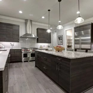 gray kitchen floor where to buy cabinets grey wood ideas photos houzz