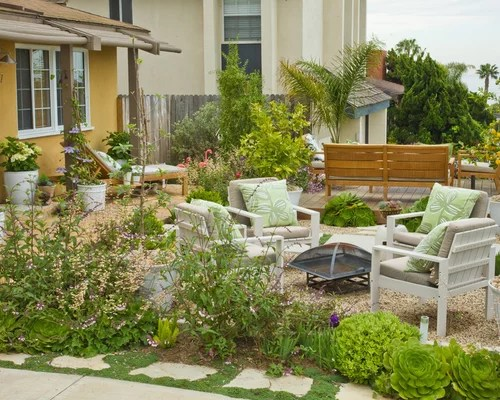Front Yard Seating Area Home Design Ideas Pictures
