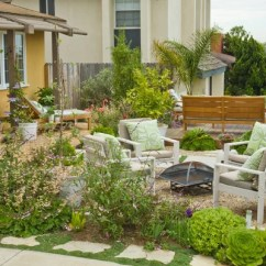 Bamboo Chair Mat Patio Furniture Chairs Front Yard Seating Area | Houzz