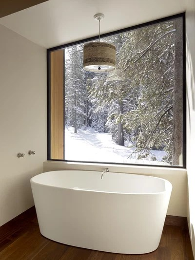 Modern Bathroom by John Maniscalco Architecture