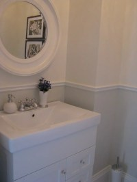 Bathroom Chair Rail | Houzz
