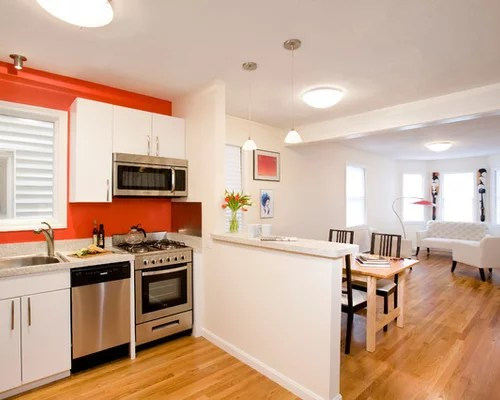 Kitchen Half Wall Design Ideas  Remodel Pictures  Houzz