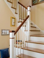 Back Stairs Home Design Ideas, Pictures, Remodel and Decor