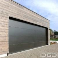 Minimalist Designed Modern Garage Doors for a San ...