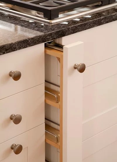 skinny kitchen cabinet remodeling cost how to add a pullout spice rack