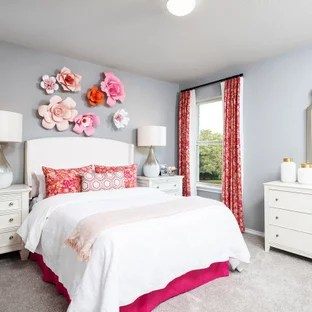 75 Beautiful Bedroom With Gray Walls Pictures Ideas September 2020 Houzz