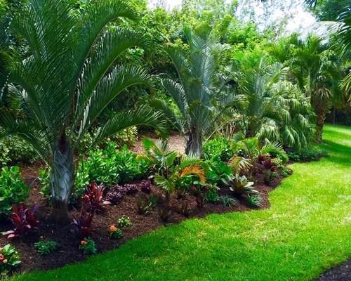 tropical formal garden ideas design