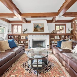 traditional living room furniture ideas decor 75 most popular design for 2019 example of a classic open concept medium tone wood floor library in raleigh