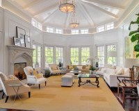 Vaulted Ceiling Family Room | Houzz