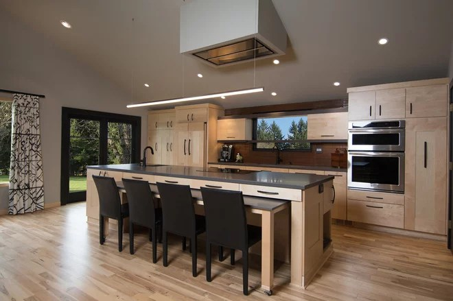 Contemporary Kitchen by Pangaea Interior Design, Portland, OR