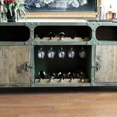 Industrial Buffets And Sideboards Houzz