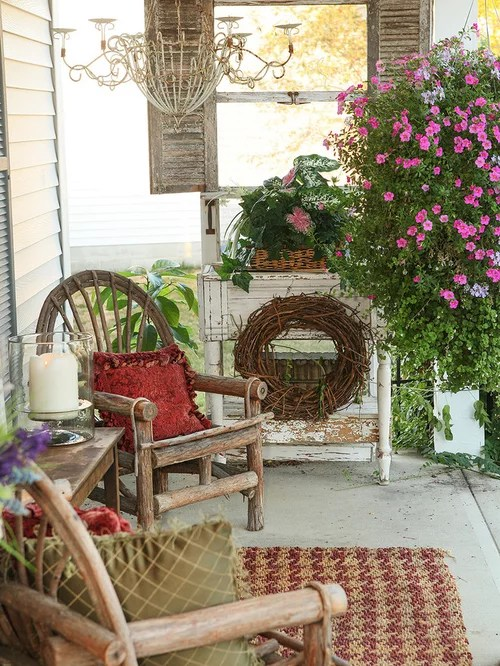 Shabby Chic Porch Home Design Ideas Pictures Remodel And Decor