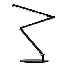 Koncept Z-Bar mini LED Desk Lamp With Base Black Warm