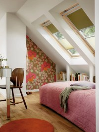 Attic Bedroom With Slanted Walls | Houzz