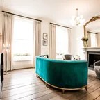 Primrose HIll Midcentury Living Room London By