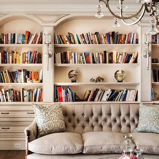 french provincial living rooms room colours ideas photos houzz mid sized elegant open concept dark wood floor library photo in perth with