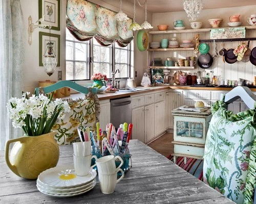 Shabby Chic Kitchen Houzz