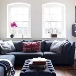 How To Decorate A Small Living Room With Big Furniture Images Interior Design Ideas Houzz Use Full Scale Decor Make Space Feel Bigger