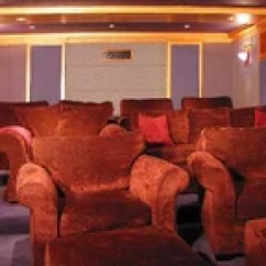 Dallas Cowboys Theater Chairs Chair Games For Seniors Inspired Game And Media Room - Contemporary Home By Wesley ...