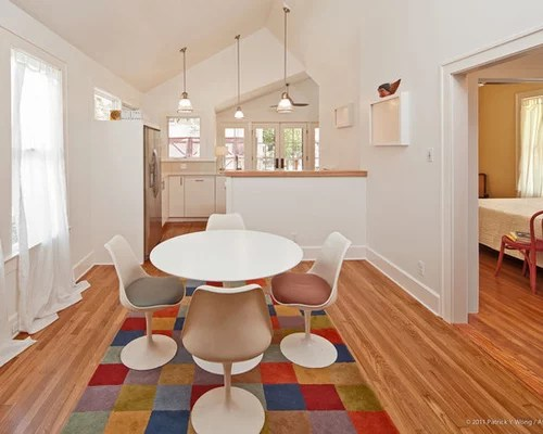 eat in kitchen island mid century modern table half wall home design ideas, pictures, remodel and ...