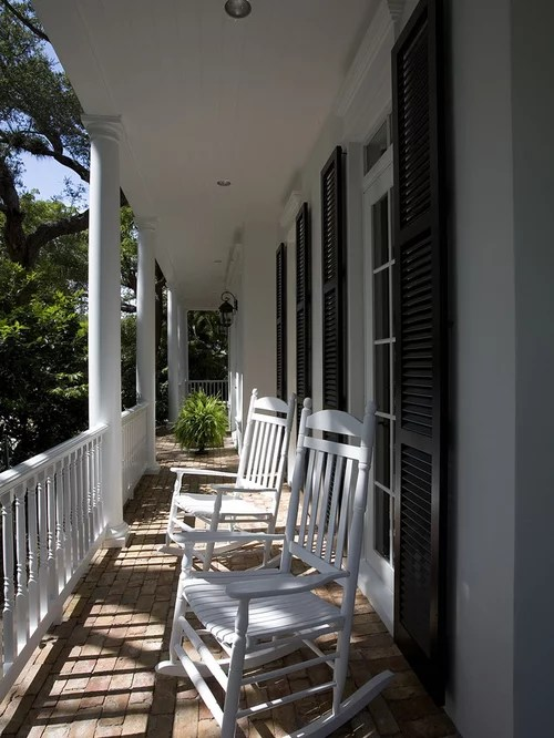 Porch Rocker Design Ideas  Remodel Pictures  Houzz