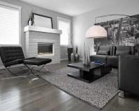 Grey Hardwood Flooring | Houzz