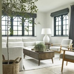 Coastal Living Room Ideas Pictures Wall Shelves For The 75 Most Popular Design 2019 Stylish Beach Style In London With Grey Walls Limestone Flooring And Beige Floors