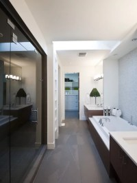 Long Narrow Bathroom | Houzz