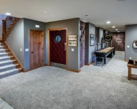 Craftsman Basement Design Ideas, Pictures, Remodel & Decor