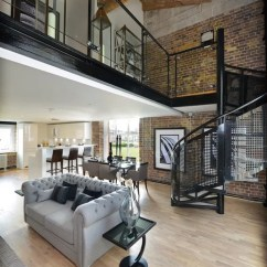 Big Living Room Sectionals Wood Furniture Industrial Design Ideas, Remodels & Photos | Houzz