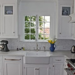 Kitchen Cabinets Cost Black And White Tile Backsplash Caesarstone Misty Carrera Home Design Ideas, Pictures ...
