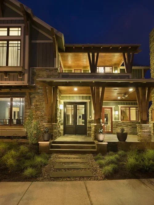 Modern Craftsman Exterior Ideas Pictures Remodel And Decor