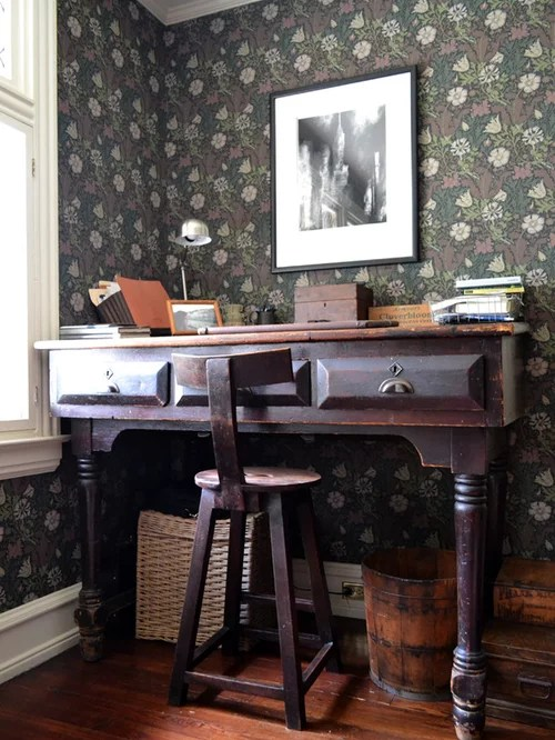 chair antique styles oak and leather dining room chairs william morris wallpaper | houzz