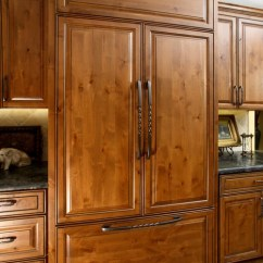 Rustic Kitchen Island Lighting The Best Countertop Material Stained Knotty Alder Home Design Ideas, Pictures, Remodel ...