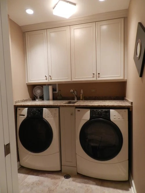 Cabinet Between Washer And Dryer