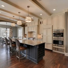 Country Living Rooms With Gray Walls Ideas For Curtains Room Cream And Grey Kitchen Home Design Ideas, Renovations & Photos