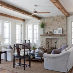 Coastal Design Living Room Sheer Curtains In 75 Most Popular Beach Style Ideas For 2019 Inspiration A Remodel New York With Stone Fireplace