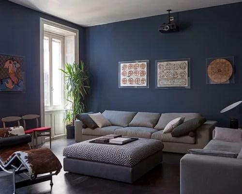 Abbinamento blu e grigio  Foto e idee  Houzz