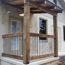 Cabin Rustic Deck Railings An Ideabook By Larry Jensen