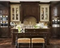 Best Dark Kitchen Cabinets Design Ideas & Remodel Pictures