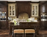 Best Dark Kitchen Cabinets Design Ideas & Remodel Pictures ...