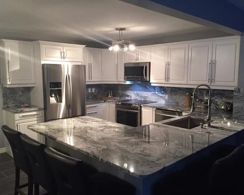 outdoor bbq kitchen best stoves viscount white granite with full height backsplash