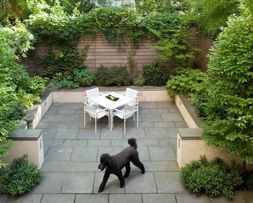 Townhouse Garden Houzz