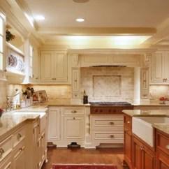 Travertine Kitchen Backsplash Mobile Island With Seating 75 Most Popular Design Ideas For Large Traditional Eat In Elegant U Shaped Medium Tone Wood