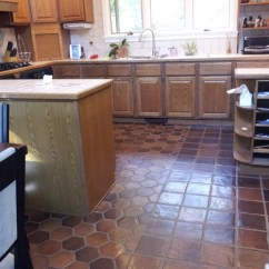 Kitchen Carpet Green Decor Does Anyone Have Regrets About Doing Tile In The