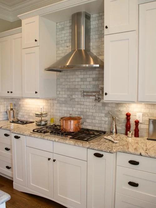Gray Tile Backsplash Home Design Ideas Pictures Remodel